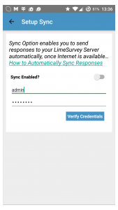 Sync Responses – Offline Surveys App for Android