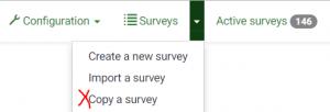 Copy survey